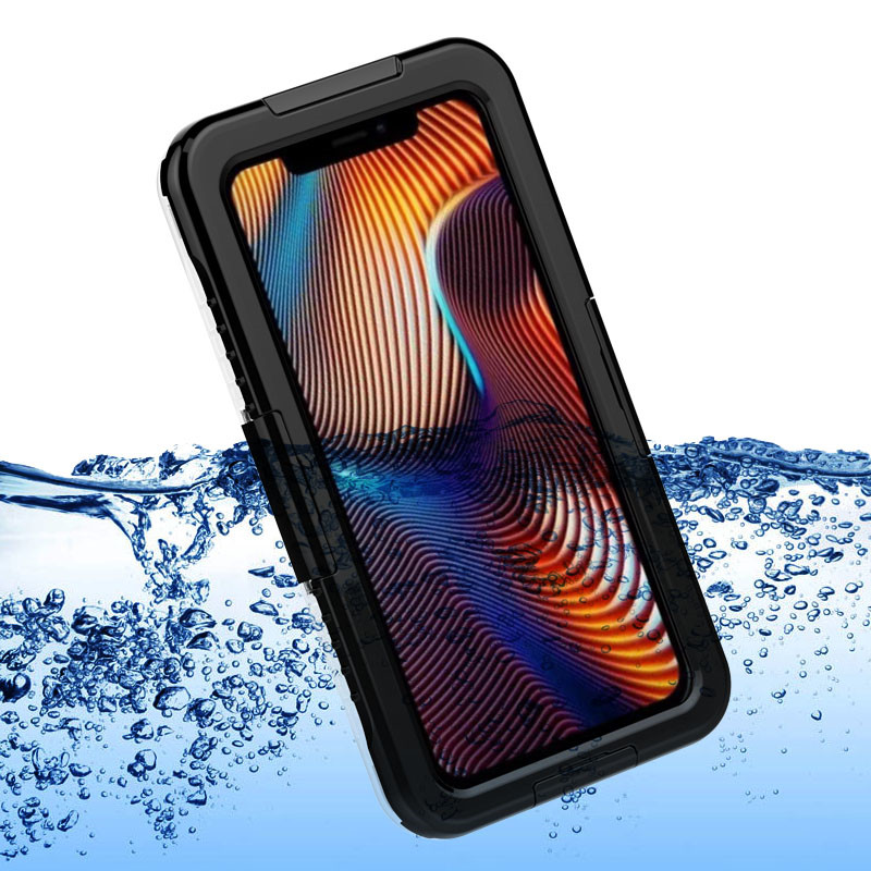 Best Waterproof Pack iPhone xr (Black)